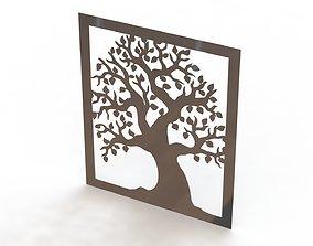 Tree steel painting 3D print model