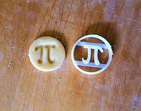 3D print model Number Pi cookie cutter v2