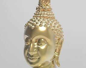 The Budda Head - Thai Pattern - 3D Print