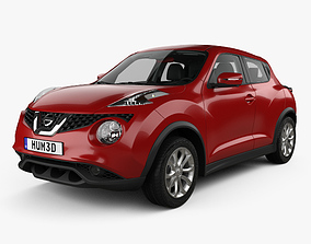 Nissan Juke with HQ interior 2015 3D