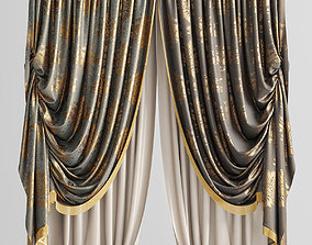3D model Curtains Tapestry