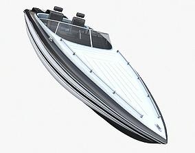 marine Speed Boat 3D model