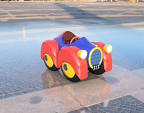 3D print model 313 Donald Duck car topolino