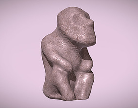 3D print model Thinker Looking into the Sky