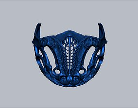 2021 Mortal Kombat movie Sub zero mask thick model