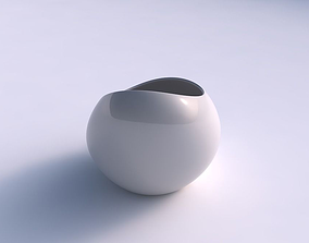 3D print model Bowl skewed and twisted smooth bowl