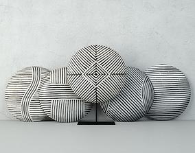 Zulu Round Shields 3 3D