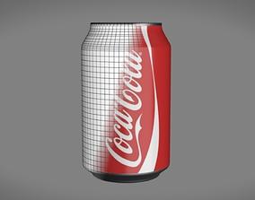 3D model Coca Cola Can