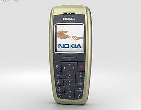 Nokia 2600 Tree Green 3D