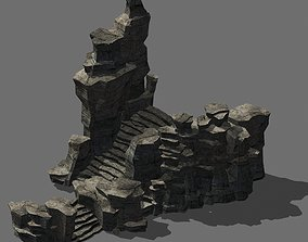 Journey to the West - Plank Road Terrain 03 3D model