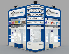 3D model Exhibition Stand - ST0032