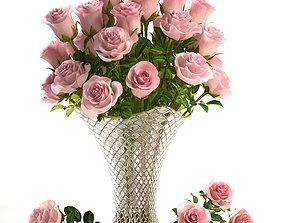 Bouquet of roses 3D model