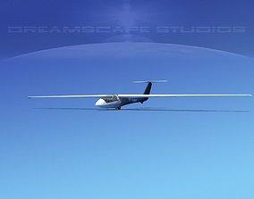 SZD-36 Cobra Glider V03 3D asset