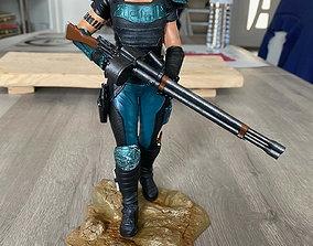 3D printable model Cara Dune the Mandalorian Season 2
