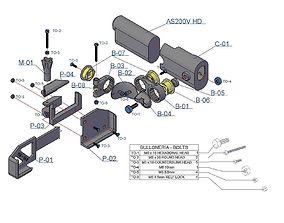3D print model Holder action CAM