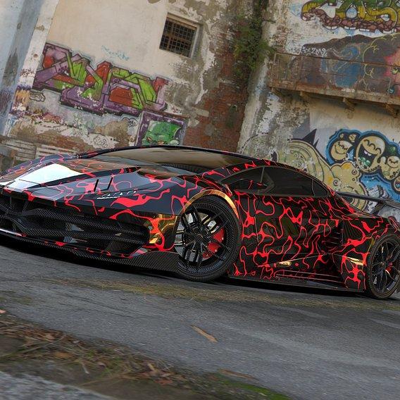 Spider Supercar Concept