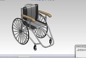 3D model Wheel chair 3