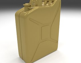 3D model Jerry Can Yellow