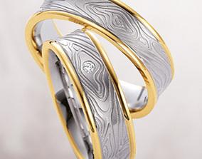 3D print model Wedding ring 081