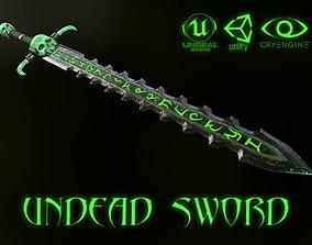 3D model UNDEAD SWORD