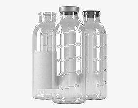lab 3D saline bottle 250ml