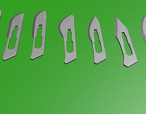 SCALPEL blade 3D model