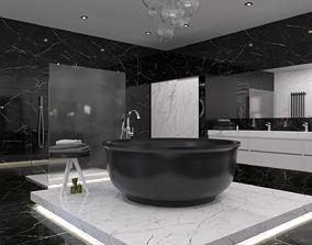 3D asset Bathroom 12
