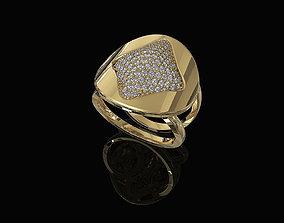 brilliant 3D printable model Brilliant Stylish Ring