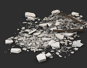 Ruin Debris Rubble 03 3D model