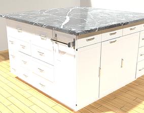 kitchen countertop 3D model