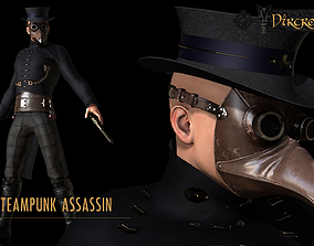 3D asset Steampunk Assasin