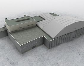 3D asset EGKK Hangar 2