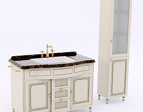 3D EuroDesign Luigi XVI bathroom set