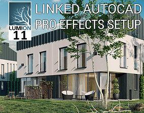 3D model Lumion 11 Exterior Scene Modern House
