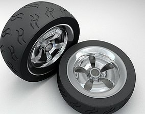 3D asset Radial Tyres