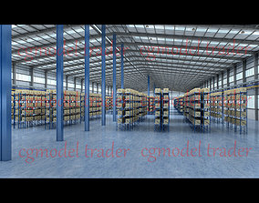 Factory warehouse 3D model