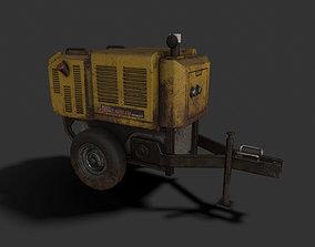 3D model Diesel Generator Games Ready