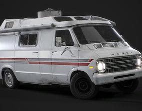 3D asset 1967 Dodge Tradesman B100 Games Model