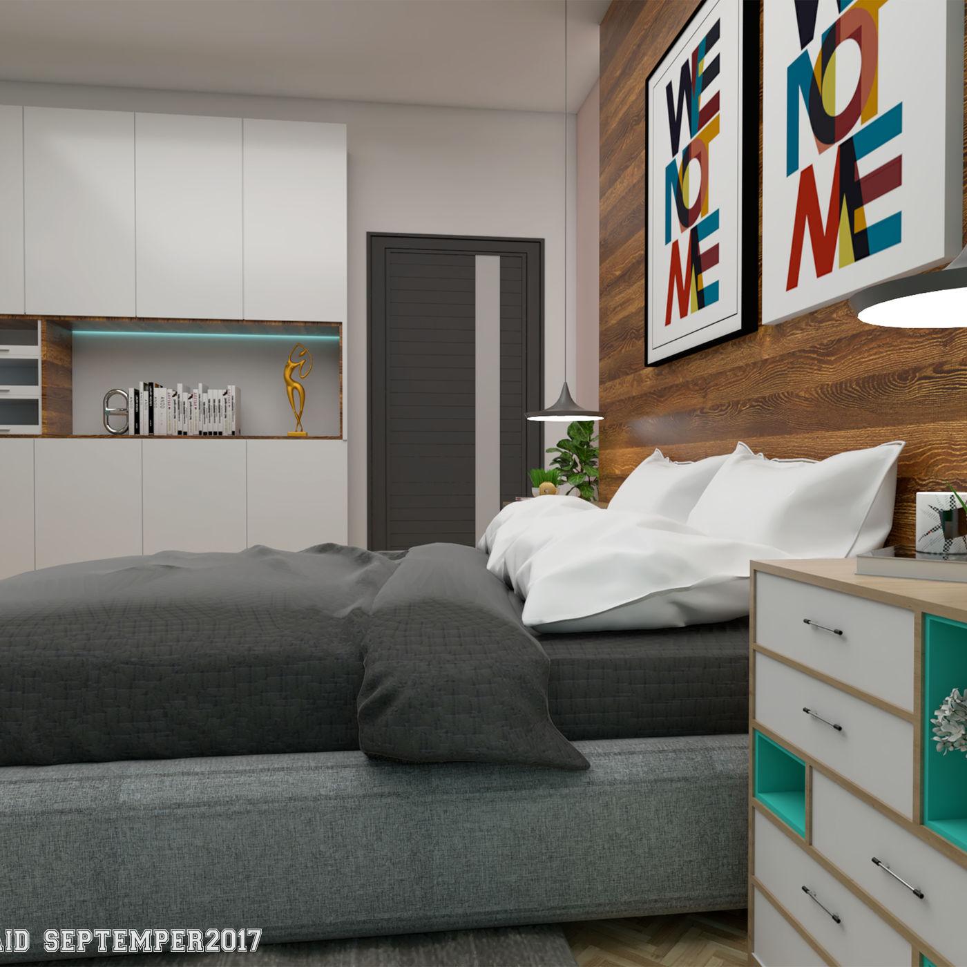 Relax mood master bedroom