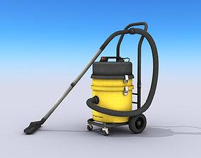 3D model Industrial Vacuum Cleaner