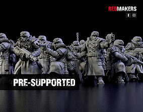 Ice Warriors - Squad of the Imperial Force 3D print model