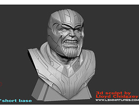 Thanos Bust - from Avengers 3D printable model
