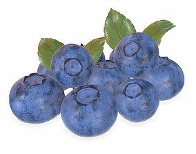 3D blueberries