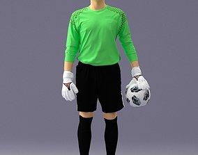 Soccer player 1114-11 3D Print Ready soccer