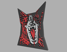 3D print model Dog Logo Cyberpunk 2077 Fan Art