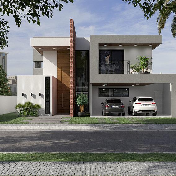 Modern Residential Exterior