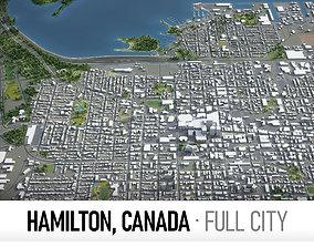 Hamilton City 3D asset