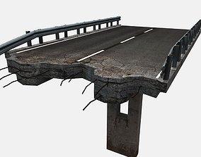 3D asset Broken Highway