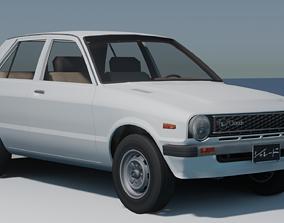1977 Daihatsu Charade 3D model