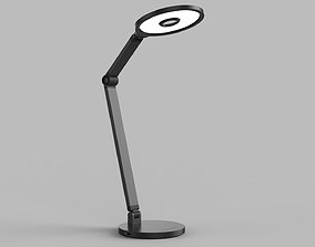 Momax QL8 Smart Desk Lamp Dark Gray 3D model